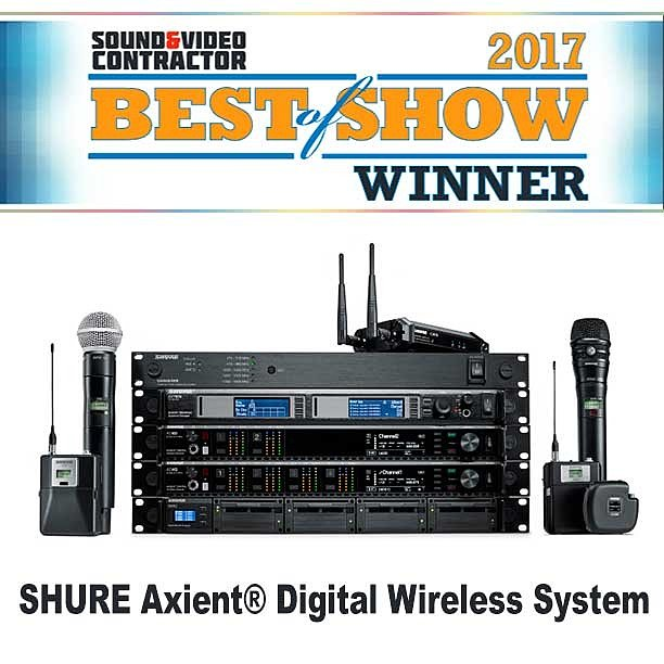 SHURE Axient Digital Wireless System