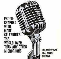 Стильный микрофон Shure Unidyne I Model 55