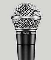 Легендарный микрофон Shure SM58